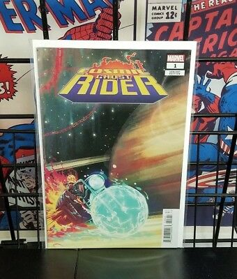 Marvel Comics Cosmic Ghost Rider #1 1:25 Variant Cover Cates 2018 Punisher