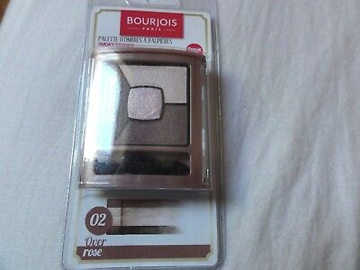 Ombres A Paupieres Smoky Stories 02 Over Rose Neuf Bourjois