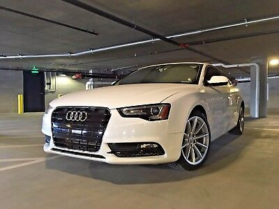 2015 Audi A5 Premium 2015 Audi A5 Quattro w/ 6-Speed Manual Transmission