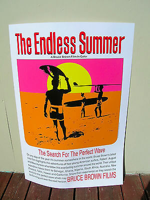 CLASSIC MOVIE POSTER 24x36 SURFING 3106 ENDLESS SUMMER