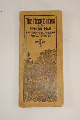 Vtg 1920's? Illinois Herbs The Herb Doctor and Medicine Man Botanical Medicines