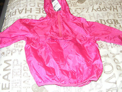 Bnwt Next Pink Cagoule In A Bag, Age 5 Years