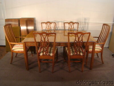 Harden Solid Cherry Dining Table & 6 Matching Chairs