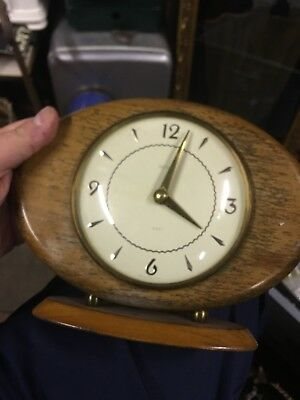 Smiths Mantle Clock  With Floating Balance