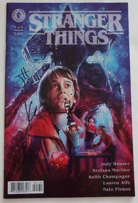 NYCC 2018 STRANGER THINGS # 1 Variant Cover SIGNED by JODY HOUSER