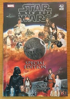 New Sealed Star Wars A New Hope Special Edition Hardcover Comic Book Hc 2017