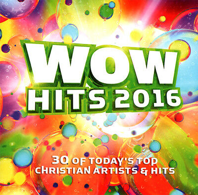 Various- Wow Hits-Today's Top Christian Artists & Hits 2016 [2CD] 2015 ** NEW **