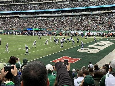 28e1a33297c 2 Tickets New York Jets vs Houston Texans 12/15 With Yellow Parking Pass