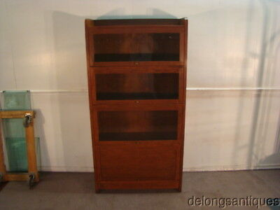 51290:Stickley Barrister Style Solid Cherry Bookcase