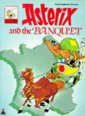 Asterix and Banquet Bk 23 PKT (Knight Books) by Goscinny, Ren� Paperback Book