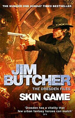 Skin Game: The Dresden Files, Book Fifteen by Butcher, Jim Book The Cheap Fast
