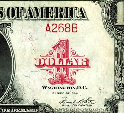**268** Low Serial Number Fr. 40 $1 1923 Legal Tender PCGS Choice New 63PPQ.