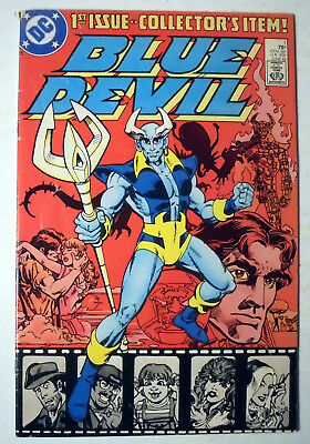 Blue Devil #1 Copper Age DC Comic Book 1984 FN