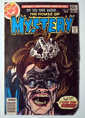 House of Mystery #262 Bronze Age DC Comic Book 1978 VG