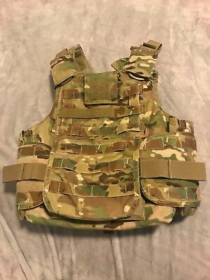 KDH Multicam Plate Carrier Size Small includes soft armor