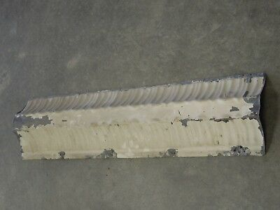 "Old Antique ( Metal )  tin ceiling tile / tiles 24"" x 6""  trim"