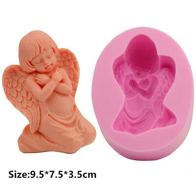 Angel Baby Silicone Cake Mould Fondant Sugar Soap Chocolate Decorating Tools