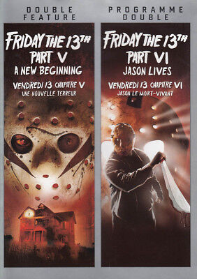 Friday The 13Th: Part 5 / Friday The 13Th: Part 6 (Double Feature) (Biling (Dvd)