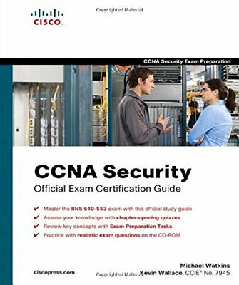 CCNA Security Official Exam Certificati... by Wallace, Kevin Mixed media product