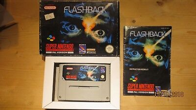 Flashback for SNES. Boxed with Manual. Pal