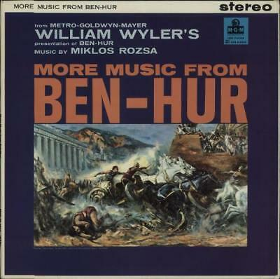 Miklos Rozsa More Music From Ben-Hur UK vinyl LP album record MGM-CS6032 MGM