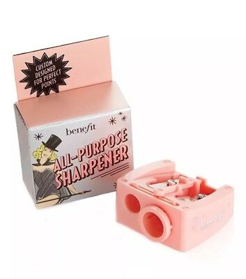 Benefit Cosmetics All-Purpose Pencil Sharpener Size Adjuster Blade Cleaning NIB
