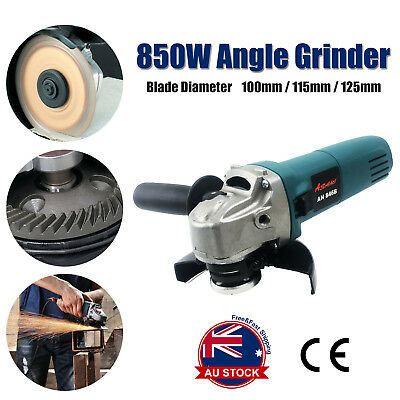 """Angle Grinder 850W 125mm (5"""") MT Series Lightweight Grinding Power Tool L"""