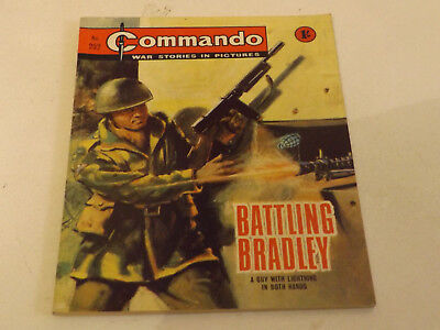 Commando War Comic Number 252 !!,1967 Issue,excellent For Age,51 Years Old,rare.