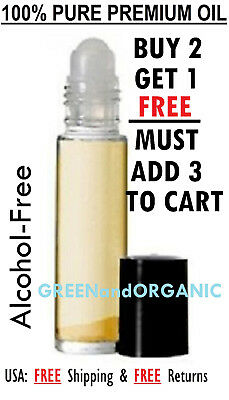 Perfume Oils for Men & Women Pure Grade A Roll on Body Attar Buy 2 Get 1 FREE