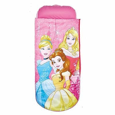 Disney Princess Junior Ready Bed Childrens Travel Bed With Foot Pump Free P+P