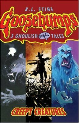 Creepy Creatures (Goosebumps Graphix) by Stine, R. L. Book The Fast Free