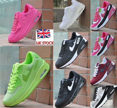Running Trainers Absorbing Air Skateboarding Shoes - Unisex for Men and Women UK