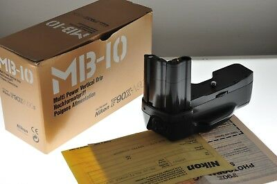 Nikon MB-10 multi Power Vertical Grip. EXC++ boxed cond. For F90 & F90X cameras.