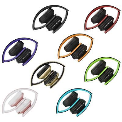 4 in 1 Foldable Wireless/Wired Stereo Bluetooth Headphone Headset MP3 FM TF V7O5