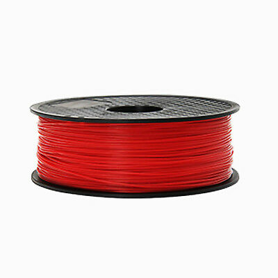 3D Printer Filament 1.75mm PLA 1KG Colours Engineer Drawing Art Red