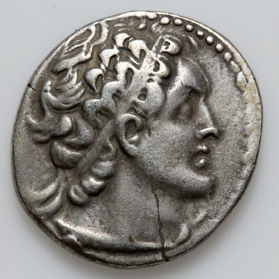Greek Coin Ptolemaic Kingdom Of Egypt Fourree Silver Tetradrachm Ca 200-100 Bc