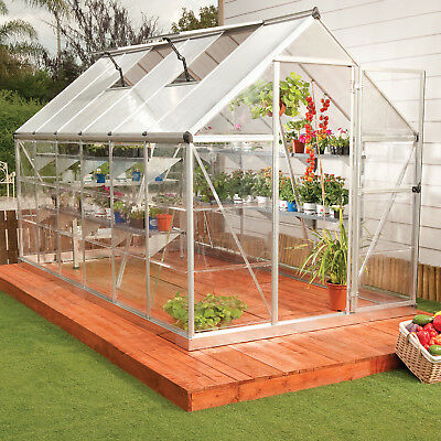 Darby Home Co Shearson 6.1 Ft. W x 14.1 Ft. D Greenhouse