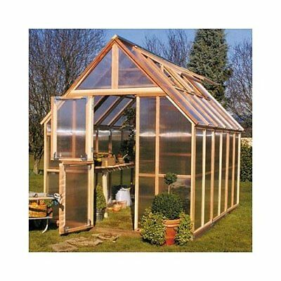 Sunshine Gardenhouse Mt. Rainier 8 Ft. W x 12 Ft. D GardenHouse