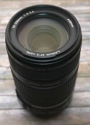 Canon EF S 55-250mm IS Stabilizer !  Nr54406606