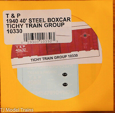Seaboard Air Line 40/' Steel Boxcar Tichy Train Group #10190 Decal for Gray Car