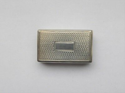 William IV Sterling Silver Vinaigrette by Taylor & Perry Birmingham 1835 (05)