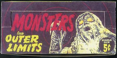 1964 Monstes From Outer Limits Reproduction Display Box