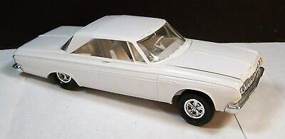 Vintage Built 1964 Plymouth FURY Model Kit Toy Car for parts/restore Jo-Han?