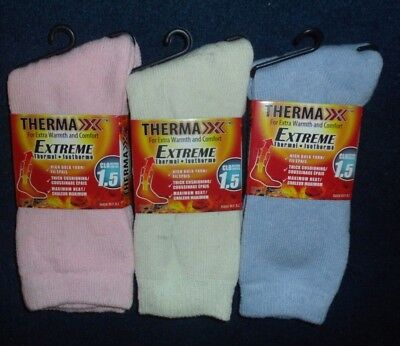 Women's Extreme Thermal Multi-Color  Socks~Shoe Size  4--10