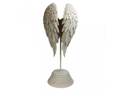 Guardian Angel Wing Decoration On Stand Figurine Statue Or Memorial Ornament