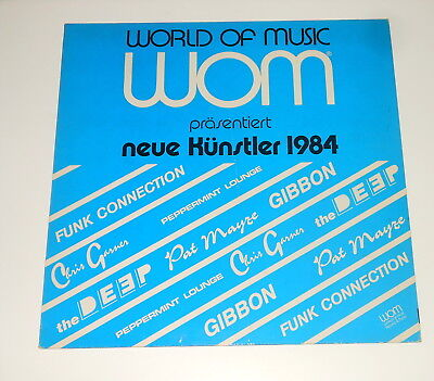 Private German Funk / Synth Pop on LP - WOM - Funk Connection - Pat Mayze