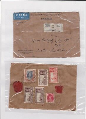 INDIA VERY OLD STAMP COVER grandpa special B