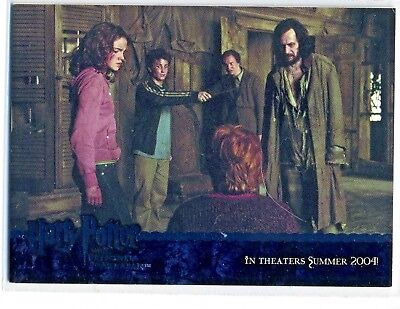 Harry Potter The Prisoner Of Azkaban  02 Promo Card 02 By Artbox