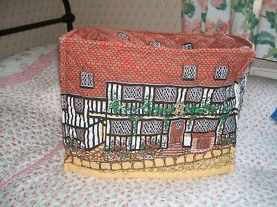 Frances Worters Rye The Mermaid Hotel Tea Cosy Mixer Toaster Cover House Quilted