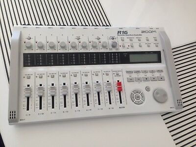 ZOOM R16 16 Track Recorder DAW Controller SD Card